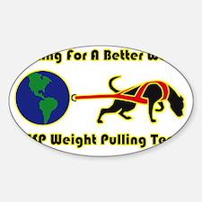 dogweightpulling02 Decal