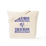 Triathlon Canvas Bags