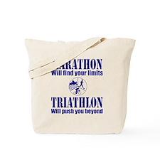 Marathon Triathlon Tote Bag