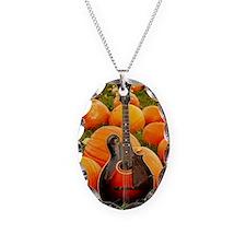 MiniPosterPrint_Gibson_Pumpkin Necklace Oval Charm