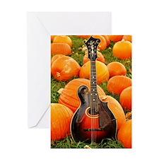 MiniPosterPrint_Gibson_Pumpkins Greeting Card