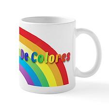 De Colores Text Mugs