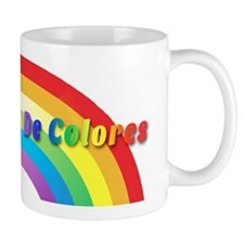 De Colores Text Mugs