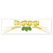 homebrewer1 Bumper Stickers