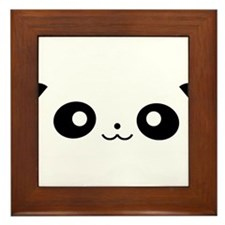 Peekaboo Panda Framed Tile