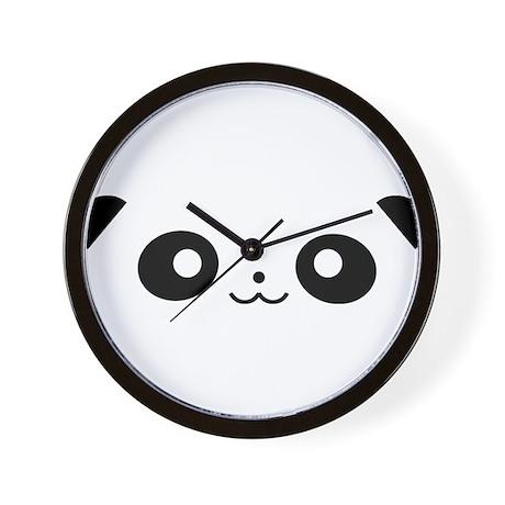 Peekaboo Panda Wall Clock