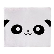 Peekaboo Panda Throw Blanket
