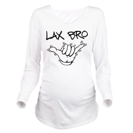hangloose lax bro.png Long Sleeve Maternity T-Shir