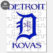 Kovas Logo - BLUE 3 Puzzle