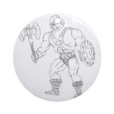 He man Round Ornament