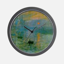 Impression, Sunrise Wall Clock