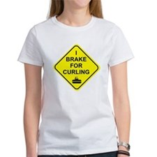 I Brake for Curling, Tee