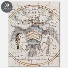 Footnote Great Seal Cropped Puzzle