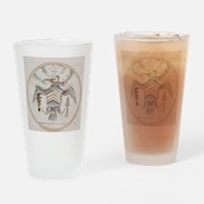 Footnote Great Seal Cropped Drinking Glass