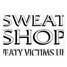 SWEATSHOP: SWEATY VICTIMS Postcards (Package of 8)