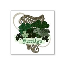 "brooklyn-irish Square Sticker 3"" x 3"""