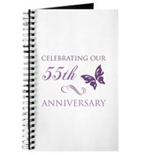 55th Wedding Aniversary (Butterfly) Journal