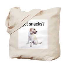 Got Snacks Labrador Tote Bag