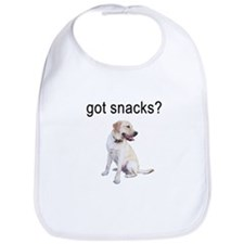 Got Snacks Labrador Bib