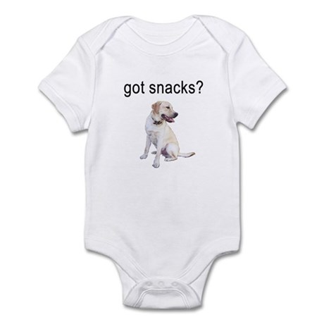 Got Snacks Labrador Infant Bodysuit