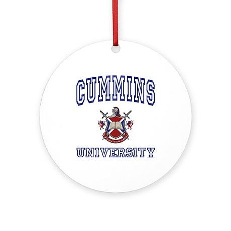 CUMMINS University Ornament (Round)