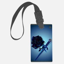 The Black Rose and Dagger_journa Luggage Tag