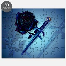 The Black Rose and Dagger-Yardsign Puzzle