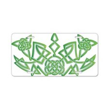 Celtic Design 6 Aluminum License Plate