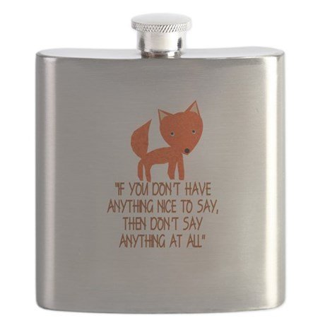 What does the fox say? Flask