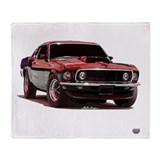 69 mustang ford Fleece Blankets