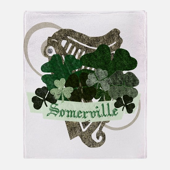 somerville-irish Throw Blanket