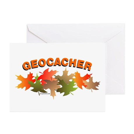 Autumn Geocacher Greeting Cards (Pk of 10)