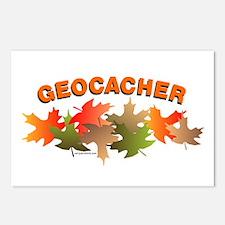 Autumn Geocacher Postcards (Package of 8)