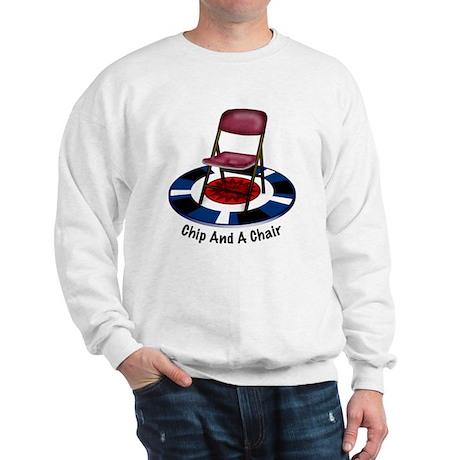 ChipAndChairC1 copy Sweatshirt