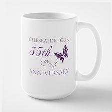 35th Wedding Aniversary (Butterfly) Mug