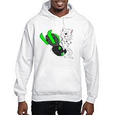 Snowmobile Green II for Dark App Hoodie