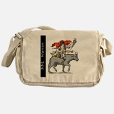 BBQ WarriorReverse - Reduced Messenger Bag