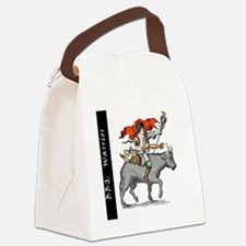 BBQ WarriorReverse - Reduced Canvas Lunch Bag