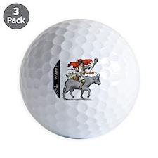 BBQ WarriorReverse - Reduced Golf Ball
