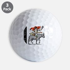 BBQ WarriorReverse - Reduced Golf Ball
