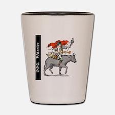 BBQ WarriorReverse - Reduced Shot Glass
