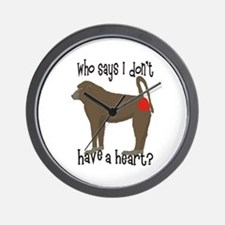 Who says I don't have a big heart? Wall Clock