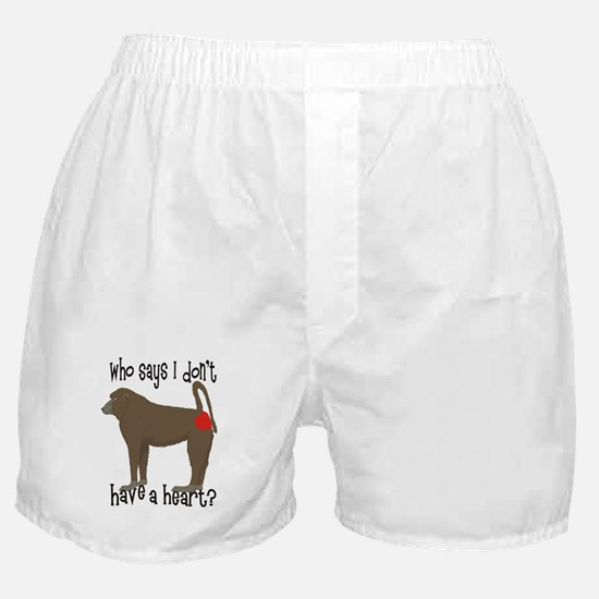 Who says I don't have a big heart? Boxer Shorts