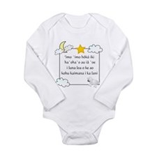 Hawaiian Twinkle Little Star Infant Creeper Body S