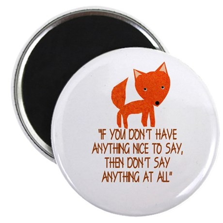 What Does The Fox Say? Magnets