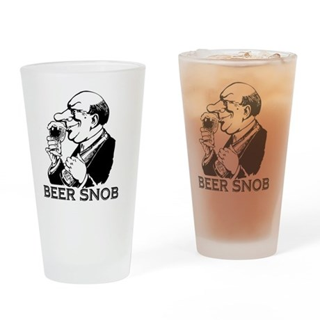 beersnob black drinking glass by admin cp14245229