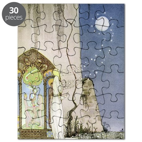Out Popped the Moon, Kay Nielsen Journal Puzzle