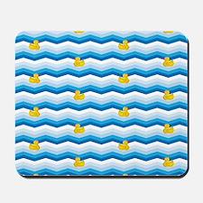 Duck Duck Duck Pattern Mousepad