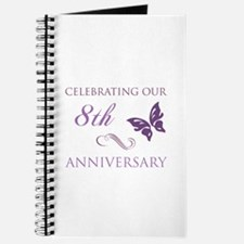 8th Wedding Aniversary (Butterfly) Journal