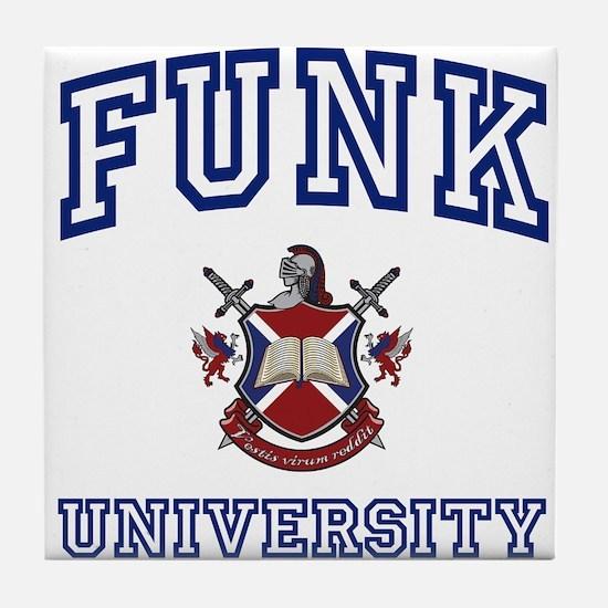 FUNK University Tile Coaster